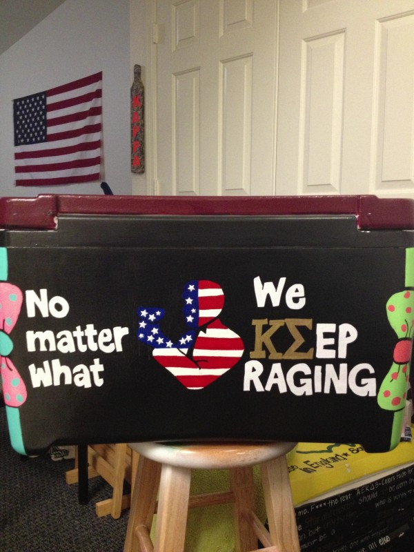 No matter what, we keep raging. TFM.