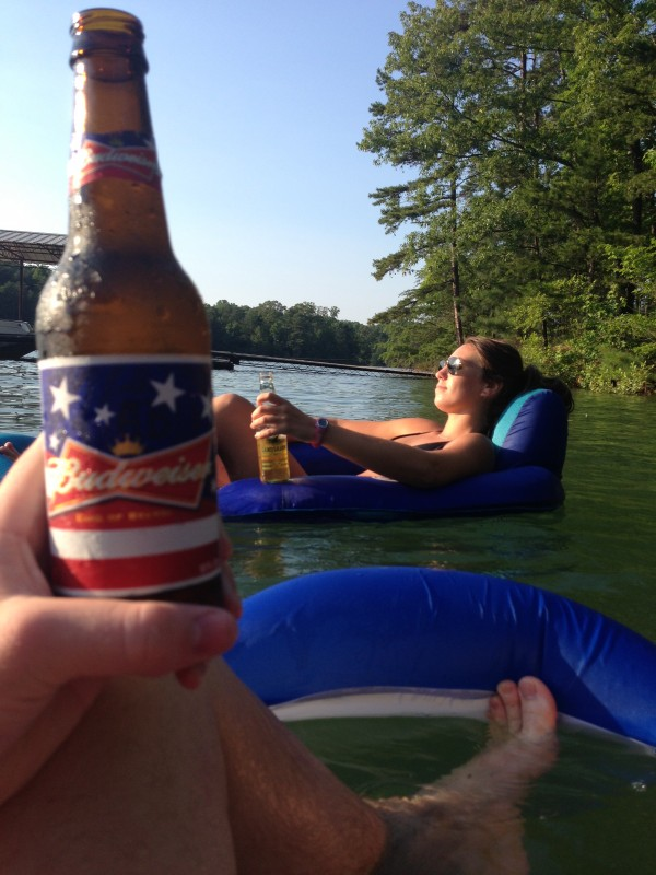 American beer, beautiful women, and water. TFM.