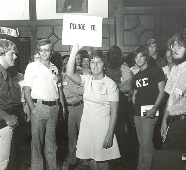 Kappa Sig back in 1969. TFM.