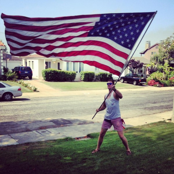 Land of the free, home of the brave. TFM.