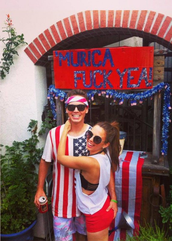 Doin' it for America. TFM.