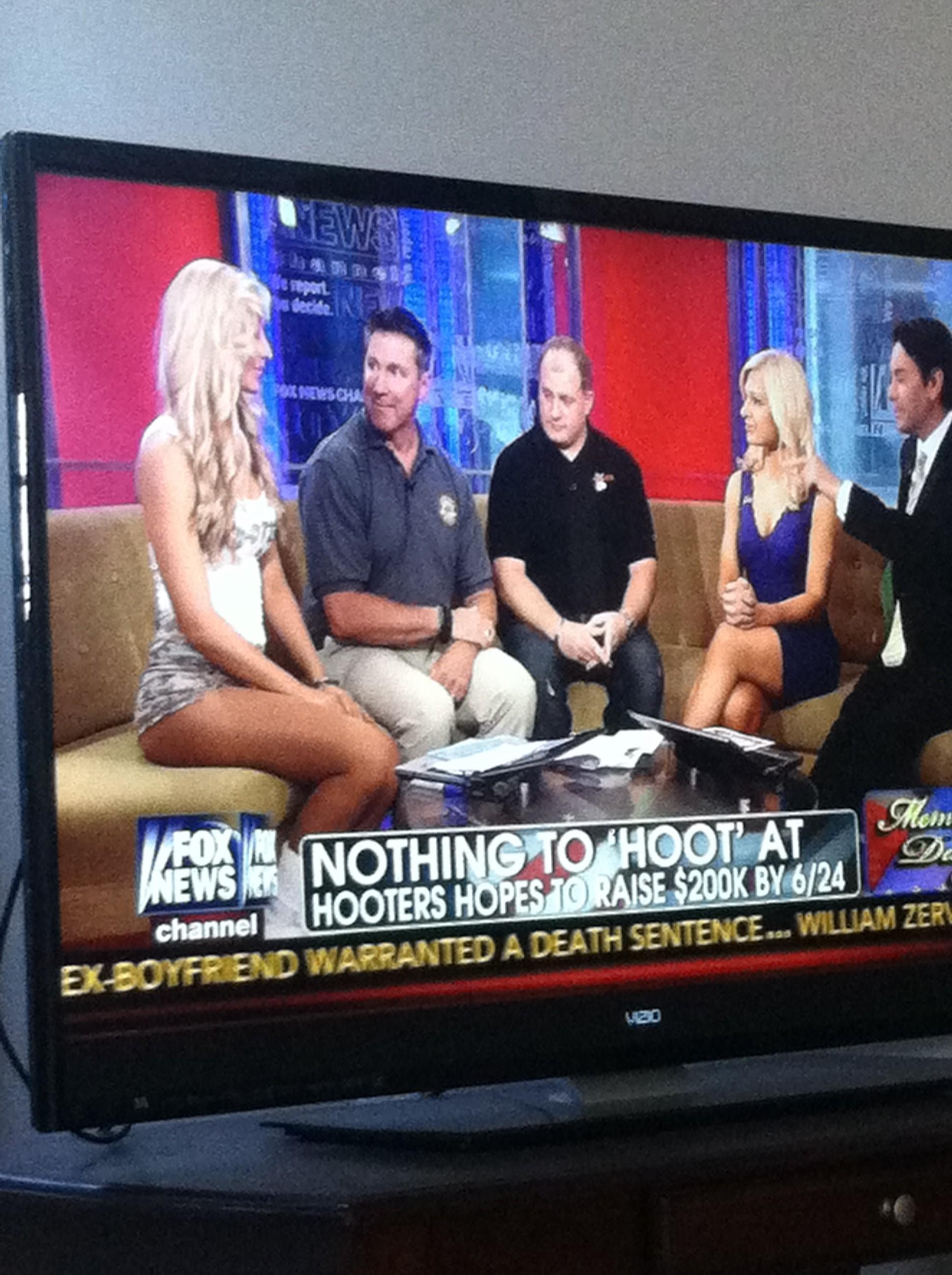 Shameless staring on Fox News. TFM.