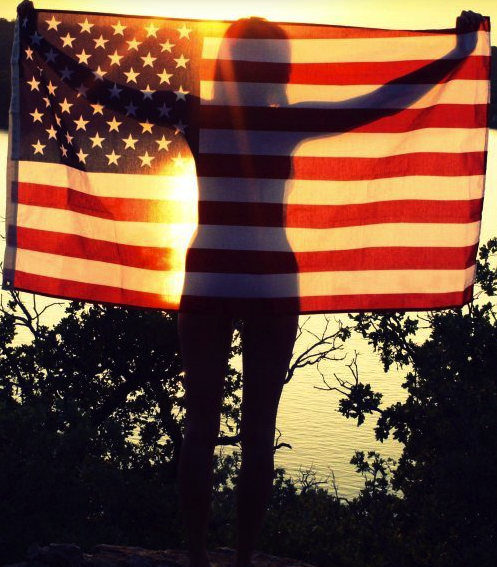 Land of the free, home of the beautiful. TFM.