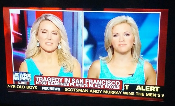 Fox keeping things consistent with their anchors. TFM.