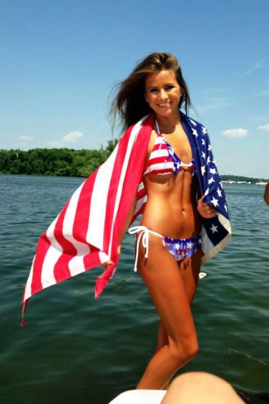 Stars and stripes have never looked nicer. TFM.