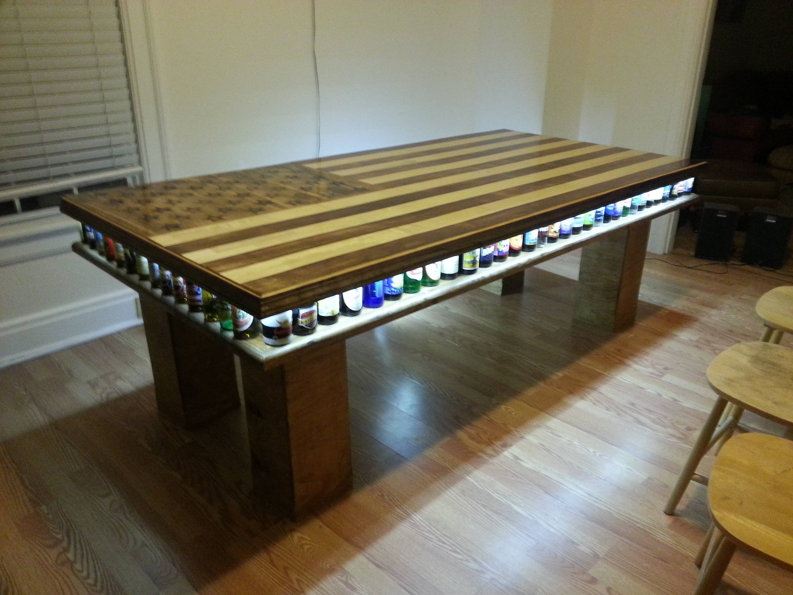 Homemade beer pong table - Homemade Beer Pong Table 31