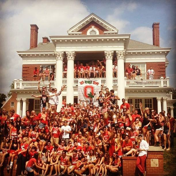 | THE does How Frat Total  State University Move Ohio