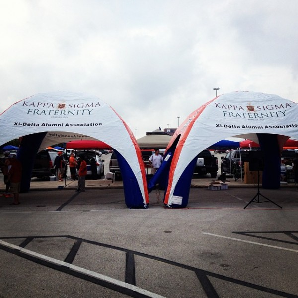 New tailgating tents. TFM.