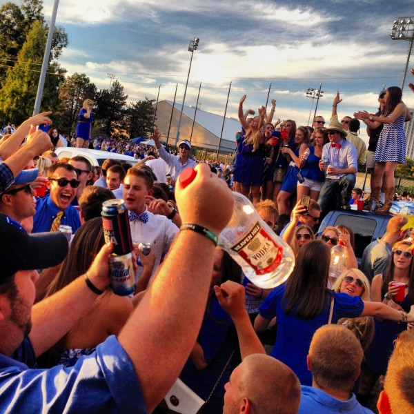 Parting the blue sea in the Bluegrass. TFM.