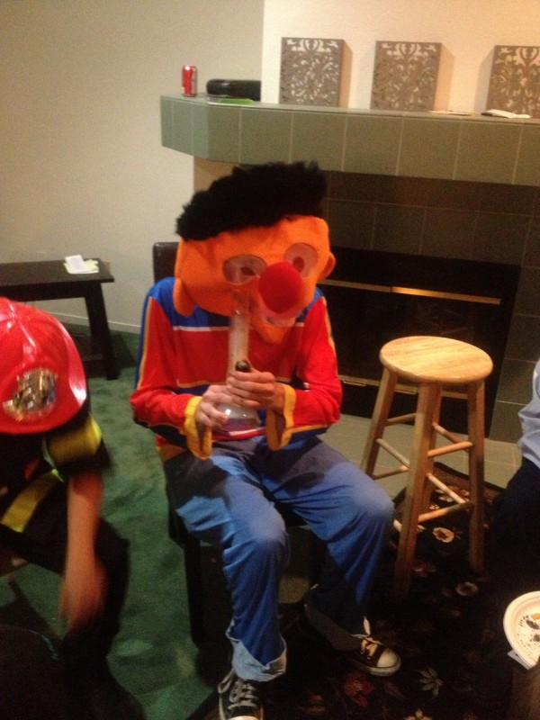 Ernie gets down. TFM.