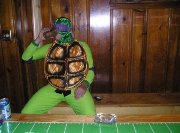 Teenage Mutant Alcoholic Turtle.