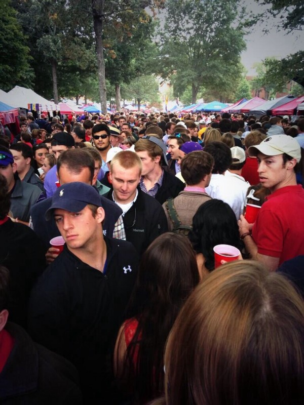 Just another Saturday here in Oxford. TFM.