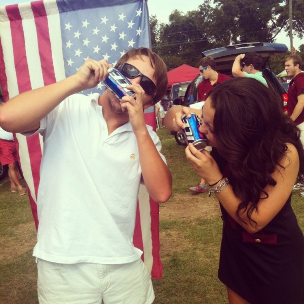 Slams that shotgun with you at tailgate. TFM.