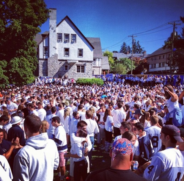 Not your average tailgate. TFM.