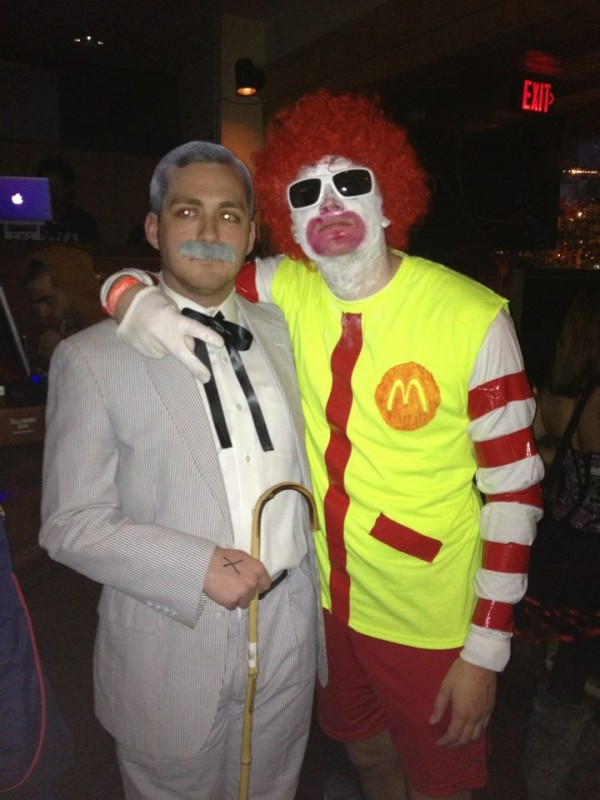 Colonel and the Clown. Hey babe, want fries with this?