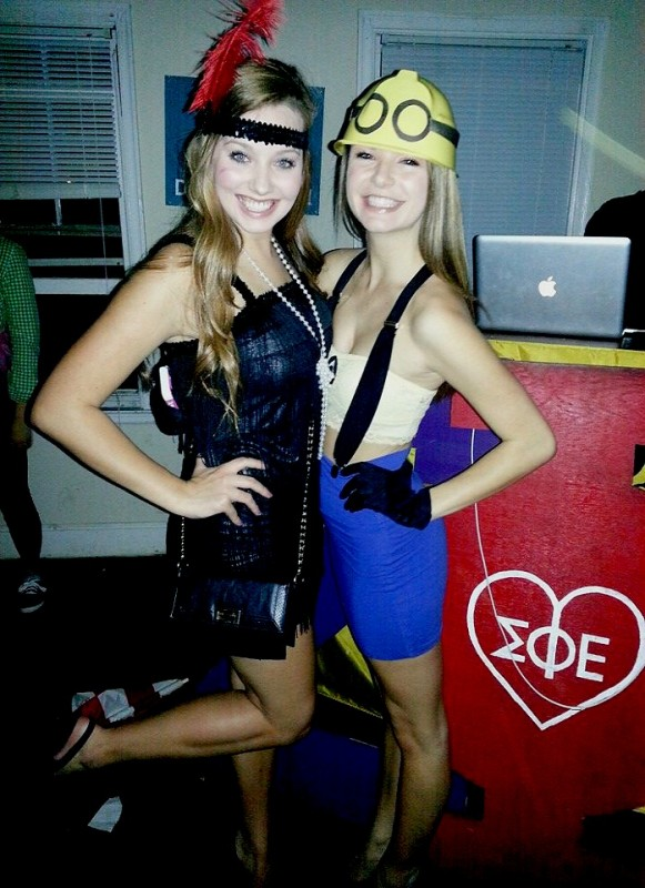 Best friends with the cutest costumes. TSM.