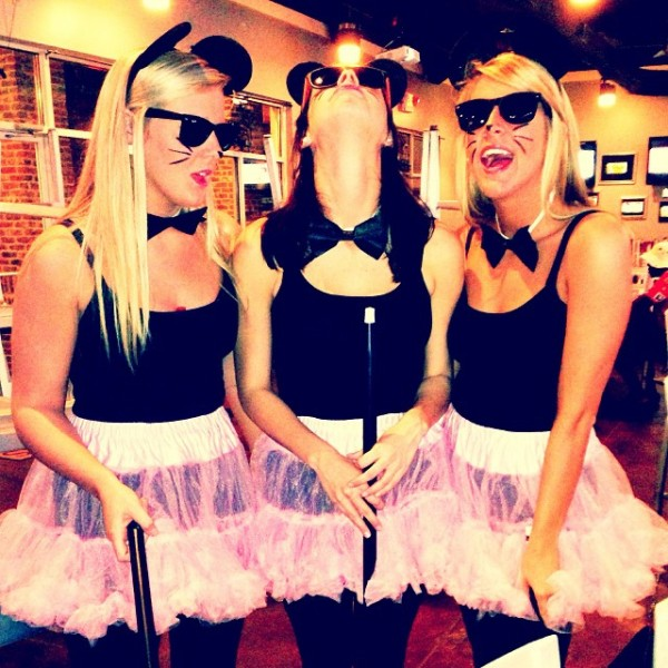 Three hot, blind mice.