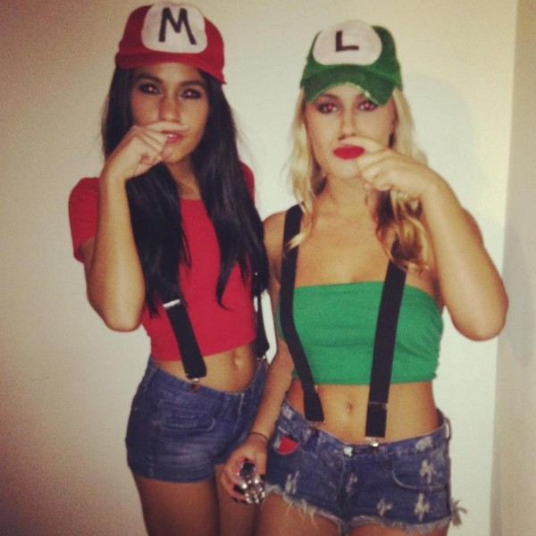 Mario and Luigi mustache you a question.