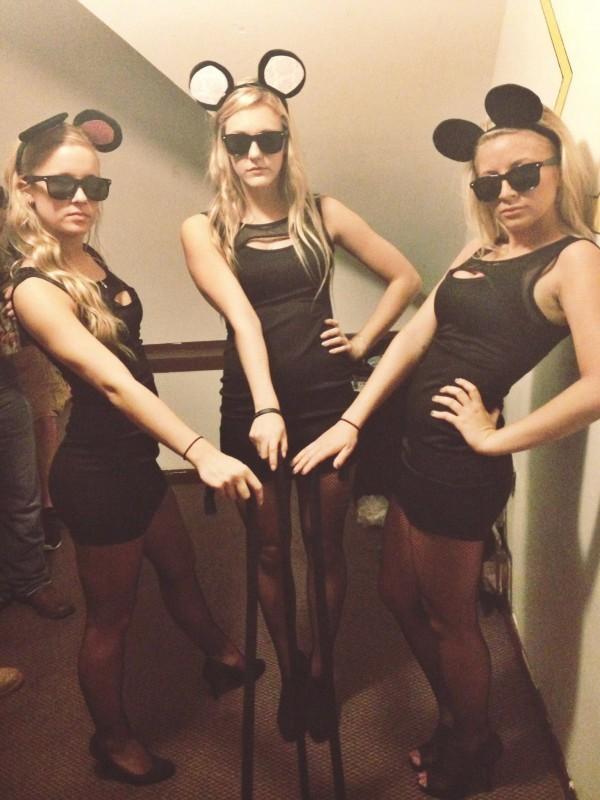 Three blind mice.