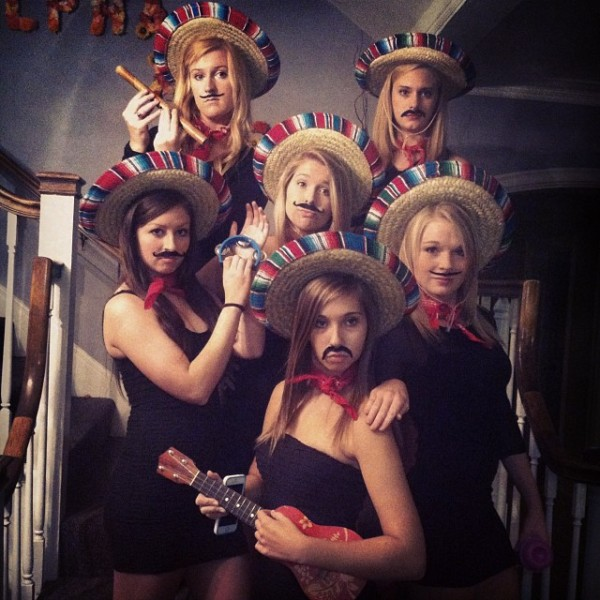 Mariachi band...we bring the party with us.