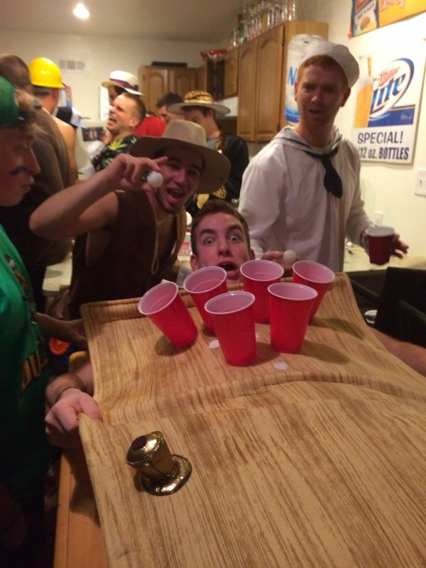 Beer Pong Table Pledge.