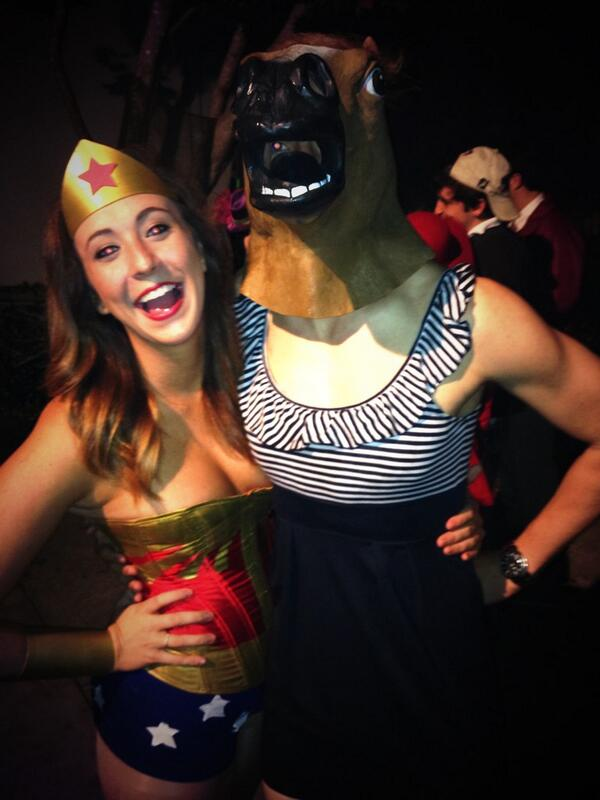 Wonder Woman and Sarah Jessica Parker Pledge.