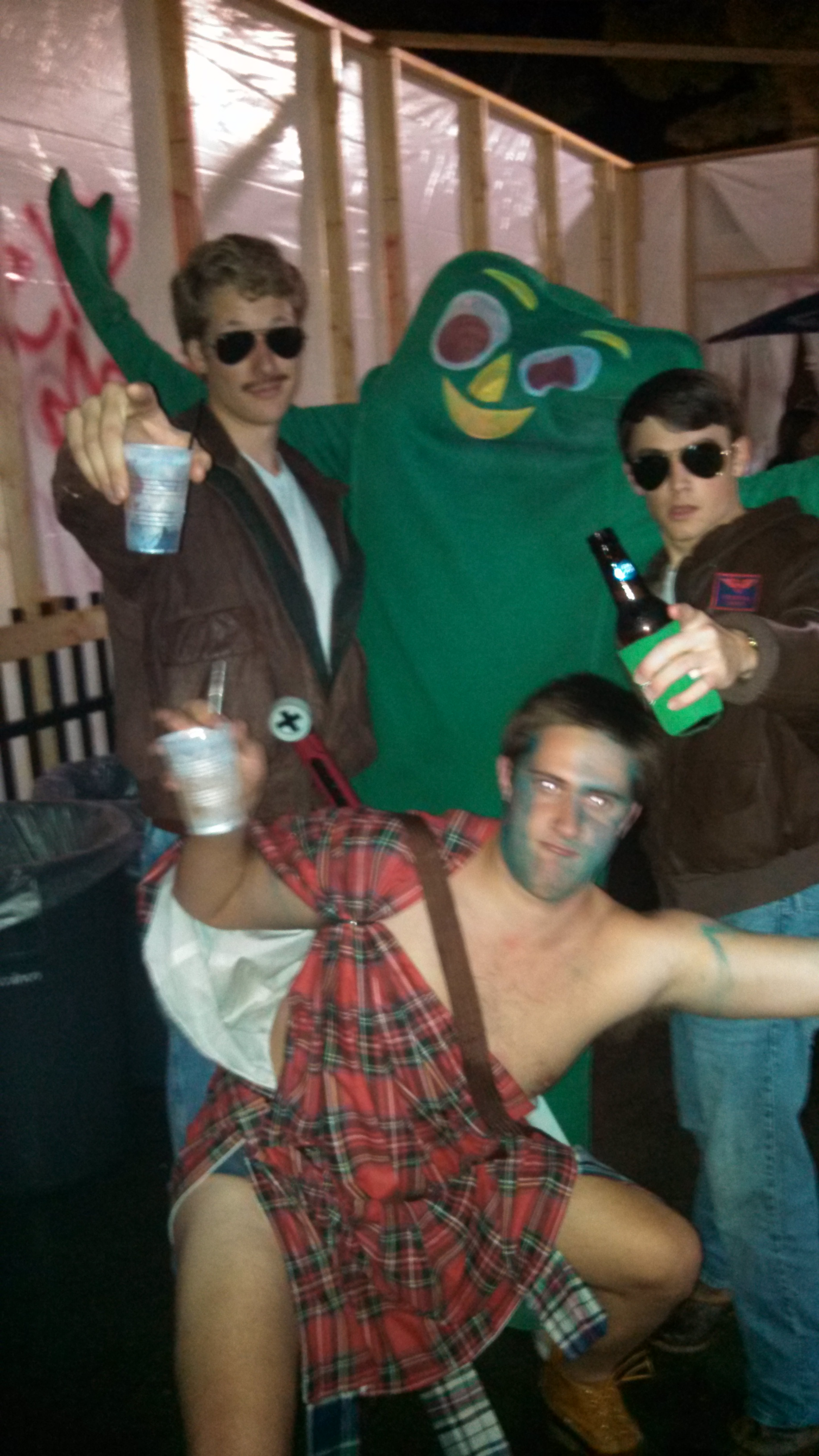 And then we raged with Gumby. TFM.