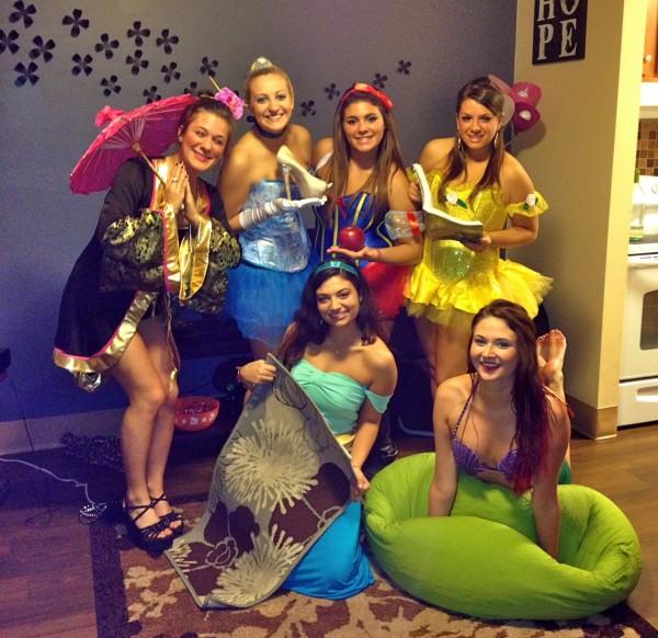 Kappa Delta Princesses.