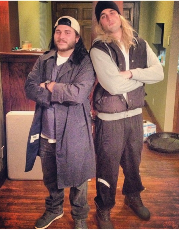 Jay and Silent Bob strike back.