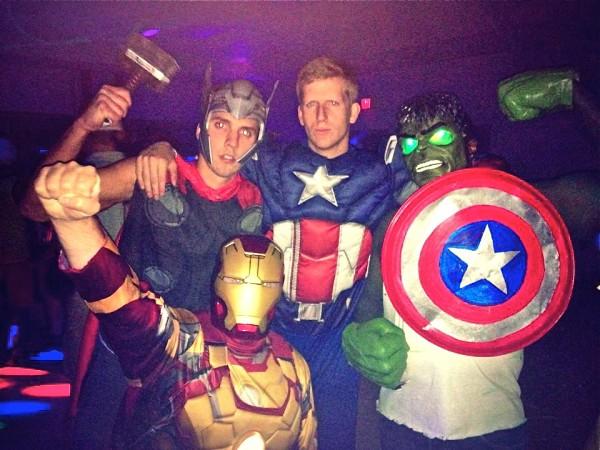Classic Avengers.
