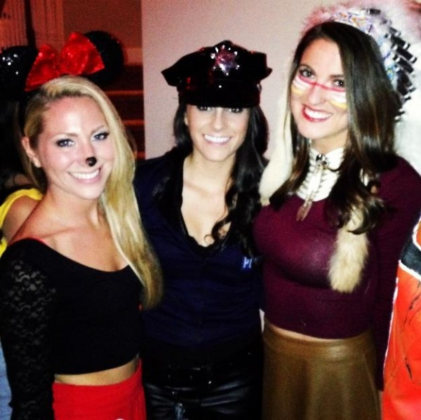 Minnie, Cop, & Cherokee. TFTC about themes.