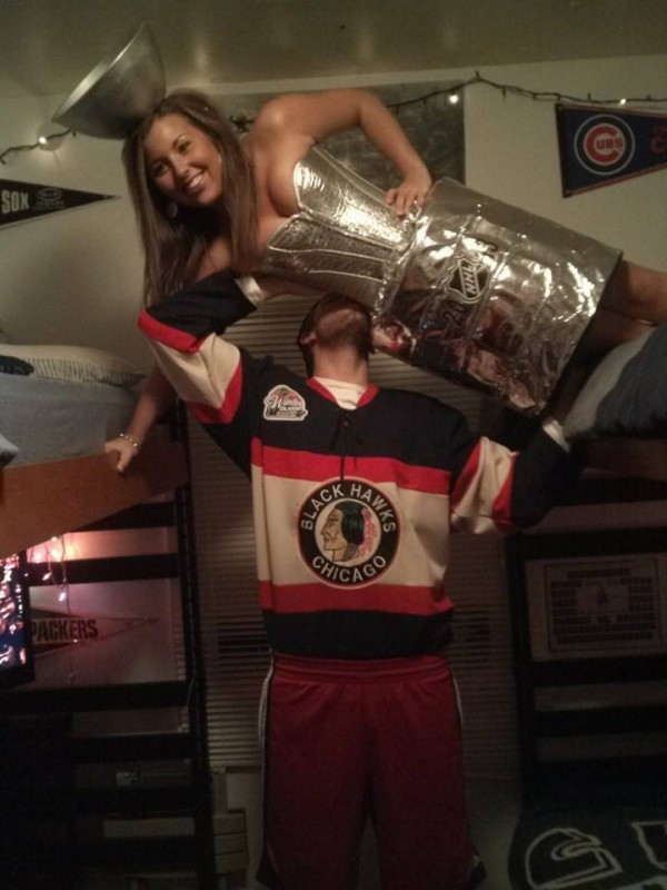 It's all for the cup...