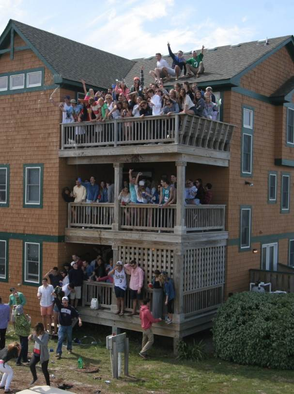 TKE does Outer Banks.