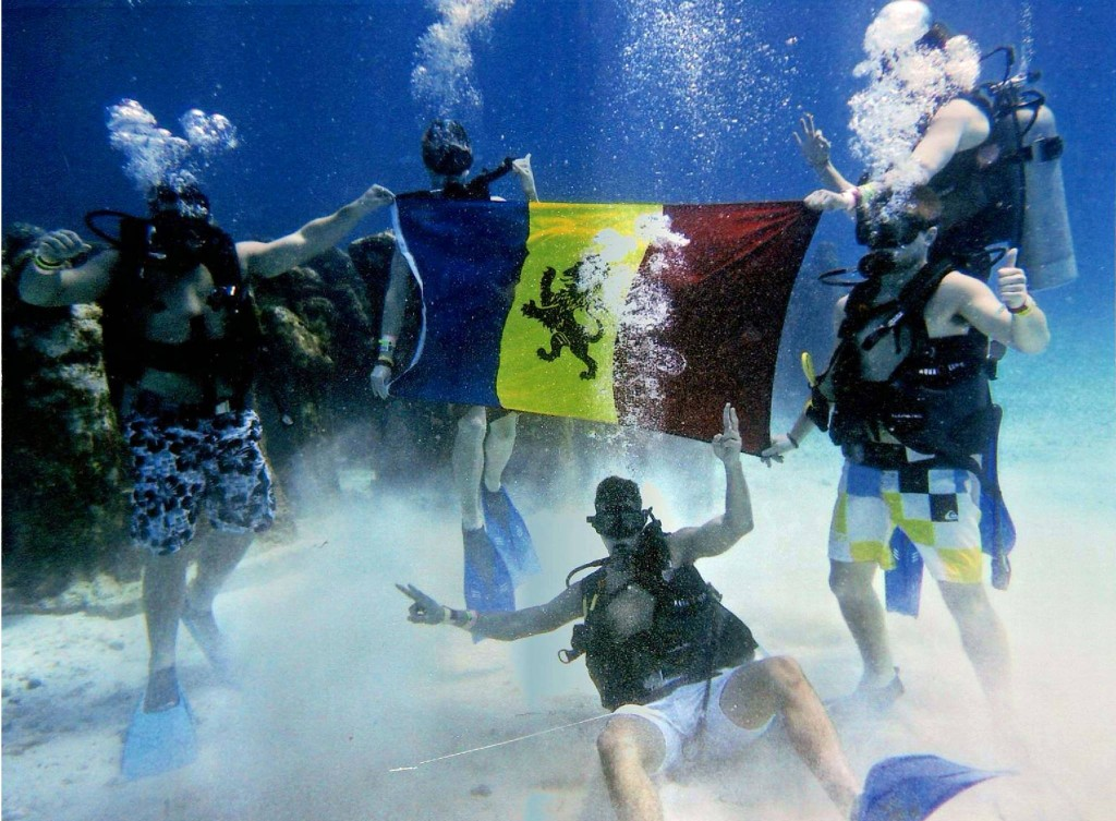 Under water or above, we represent.