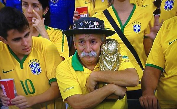 Twitter Reacts Hilariously To Brazilian Beatdown