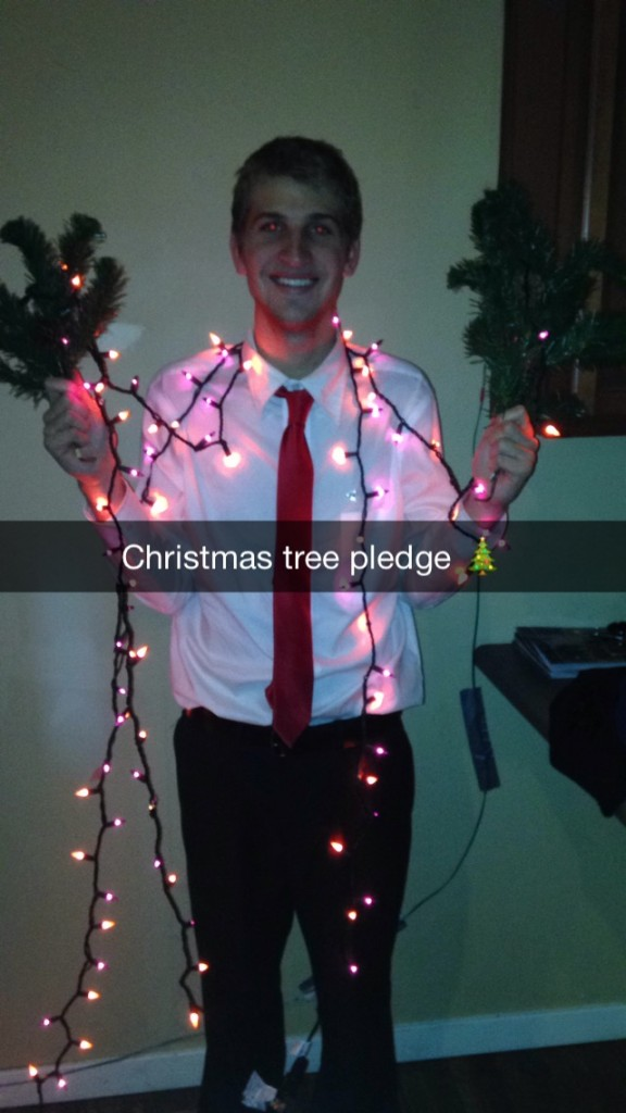 Christmas tree pledge. TFM.