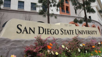 San Diego State Sign