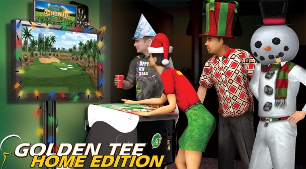 Golden Tee Holiday Sale