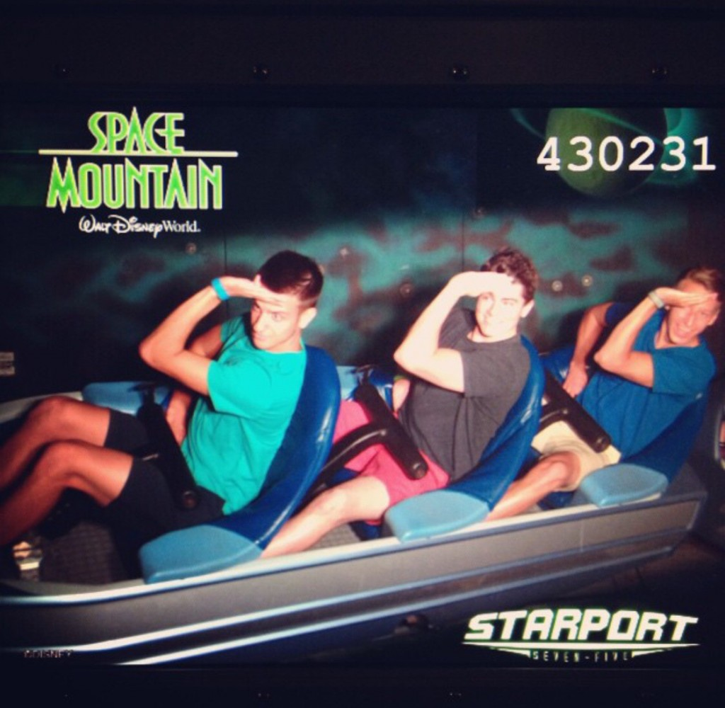 Sratting on Space Mountain. TSM.