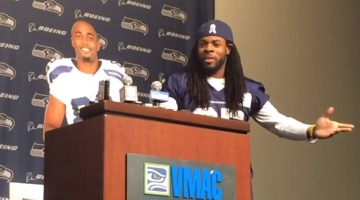 Richard Sherman And Doug Baldwin Held A Hilarious Press Conference, Destroyed The NFL's Media Policies
