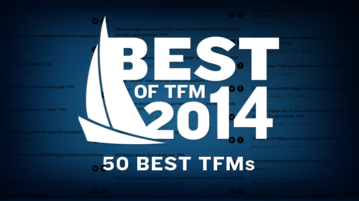 50 Best TFMs Of 2014