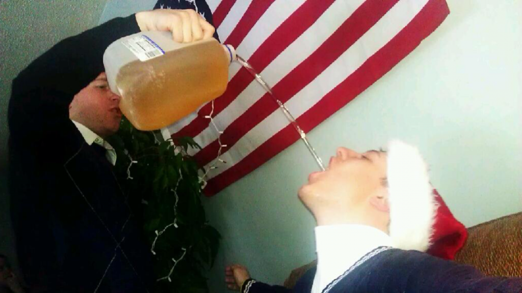 The high pour. TFM.