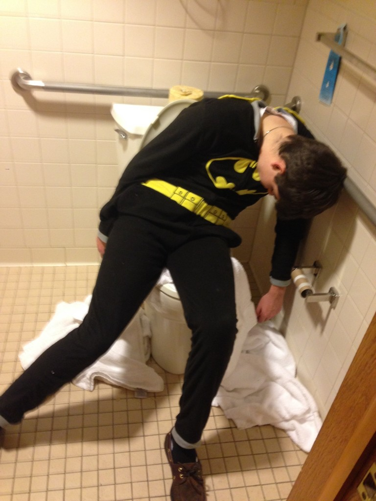 Batman poops too.