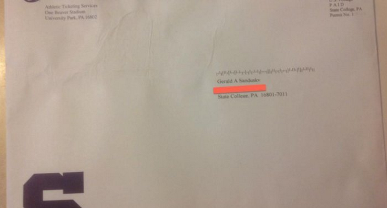 Penn State Sent Jerry Sandusky A Season Ticket Renewal Letter