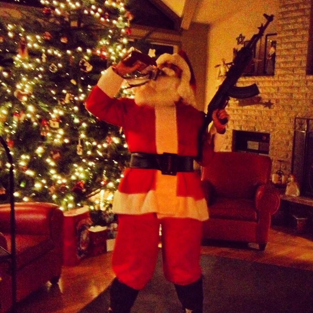 You better hope you aren't on Santas Naughty list. TFM.