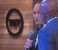 Ernie Johnson Busts Out Whitest Rap Ever, Drops The Mic