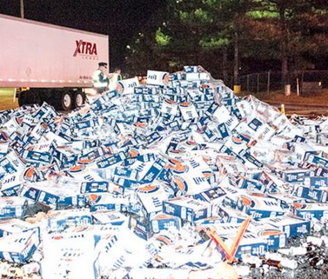 Alabama Miller Lite Accident