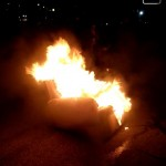 Burning couches after a big win. TFM.