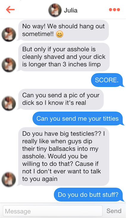 Tinder big dick