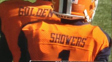Golden showers. TFM.